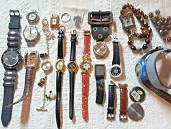 Diamond Tooled Harvester Old Vintage Antique Watch, Timex, Watches For Parts Lot