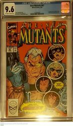 New Mutants 87 Cgc 9.6 Marvel 3/1990 1st Cable Stryfe Mutant Liberation Front