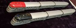 1935s Lionel Aluminum Painted,red Or Black Top Flying Yankee Sets, Buy One/both