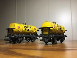 Bachmann Thomas And Friends Custom Weathered Sodor Fuel Tankers Ho/oo Scale