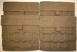 Usmc Eagle Coyote Molle Spp Side Plate Pocket Multipurpose Pouch Lot Of 4 New
