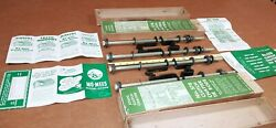 Nos 37-48 Chevy Passenger Car Clutch Chatter Tie Rod Kit Old Stock - Made In Usa
