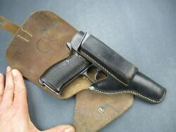 Rare Cey4 1944 Viena - Authentic Wwii German Holster Mauser Walther P38 P 38