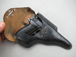 1943 Bml German Wwii Walther Luger Mauser P38 Holster P 38