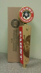 Pabst Beer Tap Handle - Pbr Brewery Logo - Brand New In Box Knob - Free S/h