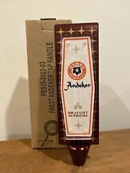 Pabst Andeker Beer Tap Handle - Milwaukee, Wi - Brand New In Box Knob - Free S/h