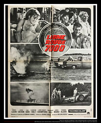 Red Line 7000 24 X 32 Fold French Moyenne Movie Poster Original 1965