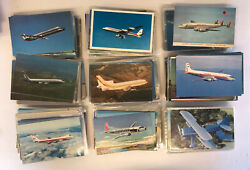 Mixed Aviation Printed Linen Chrome Aircraft Us World Airline Large 600 +pcs Lot