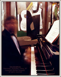 Master Photographer Michael Seewaldand039s And039pianoman Shanghai China 1987and039- 8 Of 10