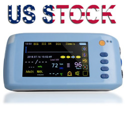 Tft- Lcd/touch Vital Sign Patient Monitor Ecg Nibp Spo2 Pulse Rate Temperature