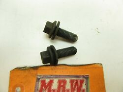 Bolt Bolts To Left Transmission Mount To Frame Rail Driver Side Lh L Automatic