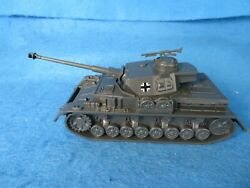 Wwii German Pziv Tank Late War Version Long Barrel Classic Toy Soldiers Cts