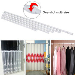 Telescoping Shower Curtain Rods Adjustable Extendable Tension Pole Rod Hange If