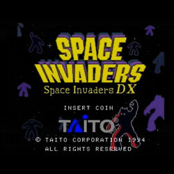 Taito Space Invaders Dx 1994 Motherboard Single Board Shooting Game F/s