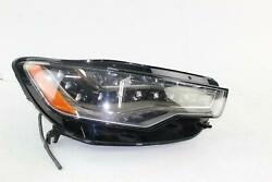 2013-15 Audi S6 Right Rh Passenger Side Headlight Led Opt 8ey Oem Parts Only