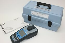 Hach 2100q Portable Turbidimeter Tool And Manual Only