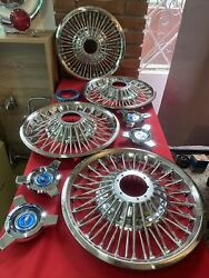 1965 1966 Mustang Nos 48 Spoke 14 Wire Wheel Cover Reproduction