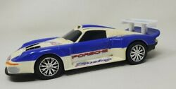 Vintage Lanard Toys Porsche Racing Pull String And Go Vehicle Toy Car 2001