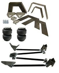 Rear Universal Weld On Kit 8 Frame C-notch Triangulated 4 Link Air Lift D2500