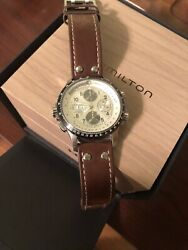 Hamilton Khaki X-wind Automatic H776260 Menand039s Watch Nice. Just Served. Ex