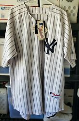 Alex Rodriguez 13 New York Yankees Majestic Authentic Collection Jersey Size 54