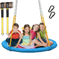 1000lb Flying Saucer Tree Swing Childrens Swing Easy Install Outdoor/indoor Play