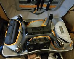 3dr Solo Smart Drone W Gimbal Gopro Hero 4 And Carrying Backpack