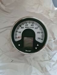 Faria Boat Tachometer Gauge Ig1508a With Hour Meter 4 1/4 Inch
