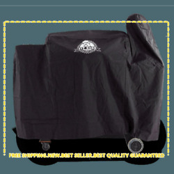 Pit Boss Austin Xl Pellet Grill Cover Black, Waterproof Barbecue Cover New