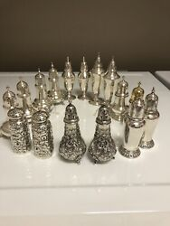Sterling Salt And Pepper Collection Pristine