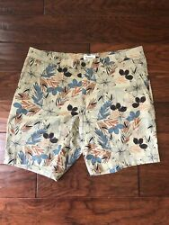 Goodfellow And Co Linden Short 9 Inseam Menand039s Size 38 Floral Print