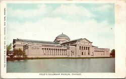 Vintage 1904 Field's Columbian Museum Building In Illinois Il Postcard