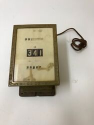 New Haven Ct Car Register Co. Company Antique Streetcar Trolley Rare Nice