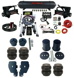 3 Preset Heights Complete Air Ride Suspension Kit For 65-70 Chevy Impala Gm Cars