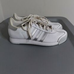 Adidas Samoa Original Womenand039s Size 7.5 Classic Shoes White/gray Low Top Sneakers