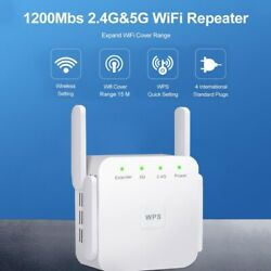 1200mbps Wireless Wifi Repeater Extender Remote Wi-fi Signal Amplifier Router Us