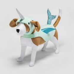 Narwhal Halloween Dog and Cat Costume S Hyde amp; EEK Small Blue Blue
