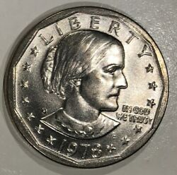 1978-d Susan Anthony Dollar Clad Overstrike Daniel Carr Circulated Finish /3