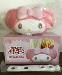 My Melody Mcdonald's Drink And Potato Holder Sanrio Limited 2018 Holder For Car