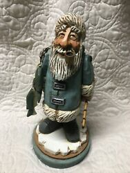 """David Frykman Collection Df 1508 The Arctic Fisherman New In Box 10"""""""