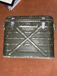 Wyott Corp 1974 Us Army Military Inf Metal Insulated Food Container Cooler