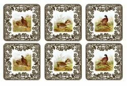 Pimpernel Spode Woodland Collection Coasters - Set Of 6
