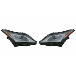For Lexus Rx350 Headlight 2016-2019 Pair Rh And Lh Side Lx2502173 | 81150-0e260