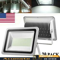 20x 300w Cool White Led Smd Floodlight Outdoor Spotlight Garden Security Lamp