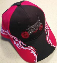 Farmall Regular Red White And Black Embroidered Solid Flame Hat