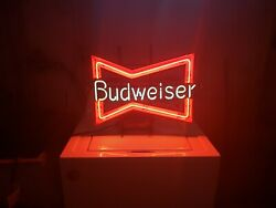 Vintage Budweiser Beer Neon Sign - Great Condition