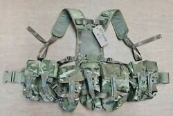British Army Issue Mtp Multicam Plce Camo Webbing Belt Vest With Pouches 2