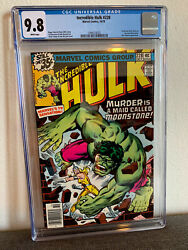 Incredible Hulk 228 1st Appearance Moonstone Cgc 9.8 White Pages