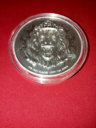 2020 Niue 5 Oz Silver Roaring Lion. Truth Series. 1000 Coins Minted. 619