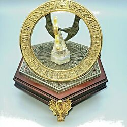 Rare Hard To Find - The Excaliber Sundial By Franklin Mint - New In Box